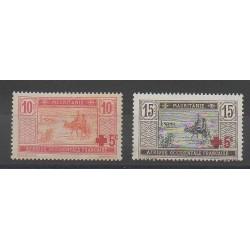 Mauritania - 1915 - Nb 34/35