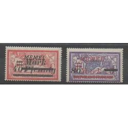 Memel - 1922 - Nb 84/85