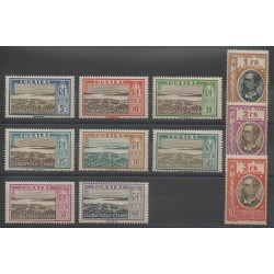 Oubangui - 1930 - Nb T12/T22 - Mint hinged