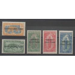 Oubangui - 1922 - No 20/24 - Neuf avec charnière