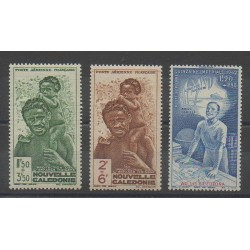 New Caledonia - Airmail - 1942 - Nb PA36/PA38