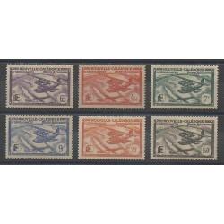 Nouvelle-Calédonie - Poste aérienne - 1938 - No PA29/PA34