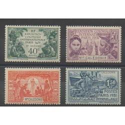 Nouvelle-Calédonie - 1931 - No 162/165 - Neuf avec charnière