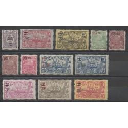 Nouvelle-Calédonie - 1924 - No 127/138