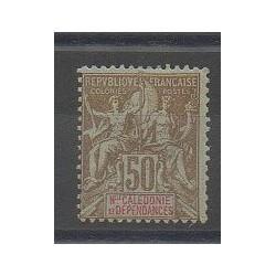 Nouvelle-Calédonie - 1900 - No 63 - Neuf avec charnière
