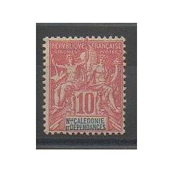 Nouvelle-Calédonie - 1900 - No 60 - Neuf avec charnière