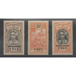 Oceania - 1921 - Nb 44/46 - Mint hinged
