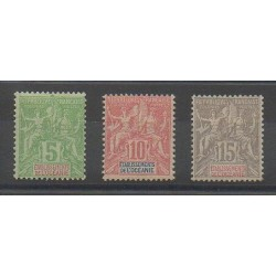 Oceania - 1900 - Nb 14/16 - Mint hinged
