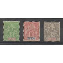 Océanie - 1900 - No 14/16 - Neuf avec charnière