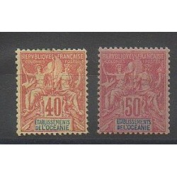Oceania - 1892 - Nb 10/11 - Mint hinged