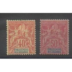 Océanie - 1892 - No 10/11 - Neuf avec charnière