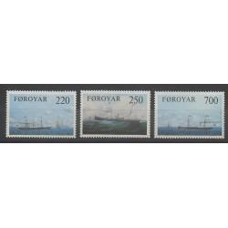 Faroe (Islands) - 1983 - Nb 73/75 - Boats