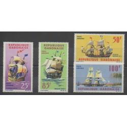 Gabon - 1965 - Nb PA32/PA35 - Boats