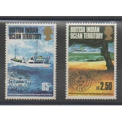 British Indian Ocean Territory - 1974 - Nb 57/58 - Boats