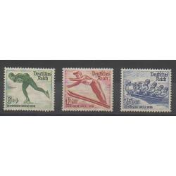 Allemagne - 1935 - No 559/561 - Jeux olympiques d'hiver - Neuf avec charnière