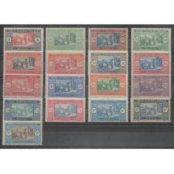 Sénégal - 1922 - No 72/86 - Neuf avec charnière