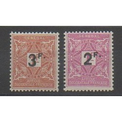 Senegal - 1927 - Nb T20/T21 - Mint hinged