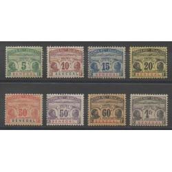 Sénégal - 1906 - No T4/T11 - Neuf avec charnière