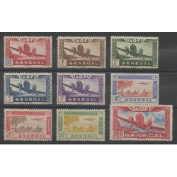 Senegal - 1942 - Nb PA22/PA30