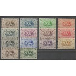 Réunion - 1943 - No 233/246