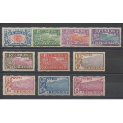 Reunion - 1928 - Nb 109/118 - Mint hinged