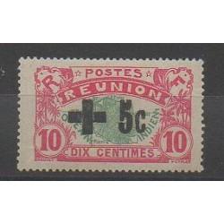 Réunion - 1915 - No 80 - Neuf avec charnière