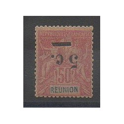 Reunion - 1901 - Nb 53a - Mint hinged