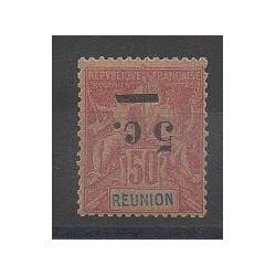 Réunion - 1901 - No 53a - Neuf avec charnière