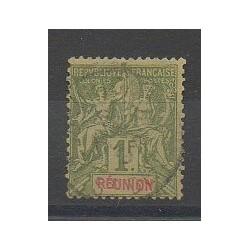 Réunion - 1892 - No 44 - Oblitéré