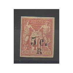 Réunion - 1885 - No 8 - Neuf avec charnière