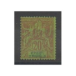 Saint Pierre and Miquelon - 1892 - Nb 65 - Used
