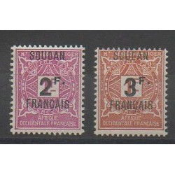 Sudan - 1927 - Nb T9/T10 - Mint hinged