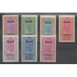 Soudan - 1927 - No 53/59 - Neuf avec charnière
