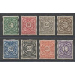 Top-Senegal and Niger - 1915 - Nb T8/T15 - Mint hinged