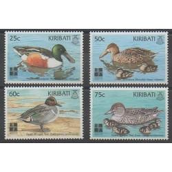 Kiribati - 1999 - Nb 426/429 - Birds