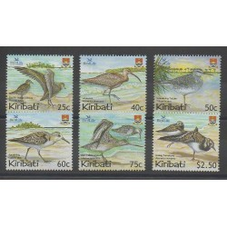 Kiribati - 2004 - Nb 535/540 - Birds