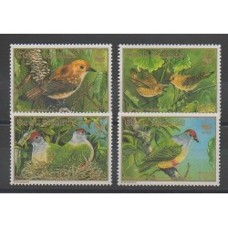Cook (Islands) - 1989 - Nb 994/997 - Birds