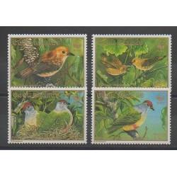 Cook (Iles ) - 1989 - No 994/997 - Oiseaux