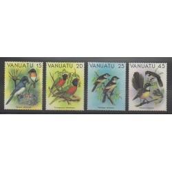 Vanuatu - 1982 - No 639/642 - Oiseaux