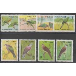 Vietnam - 1981 - No 281/288 - Oiseaux