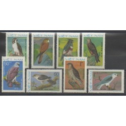Vietnam - 1982 - No 343/350 - Oiseaux
