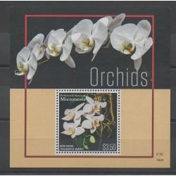 Micronésie - 2016 - No BF275 - Orchidées