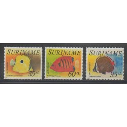 Surinam - 1976 - No PA53/PA55 - Poissons