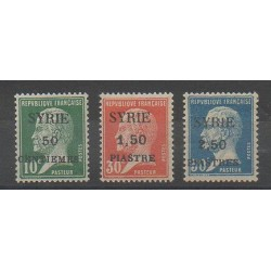 Syrie - 1924 - No 119/121