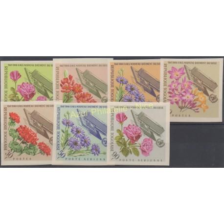 Togo - 1966 - No 490/494 - PA 57/PA 58 ND - Fleurs