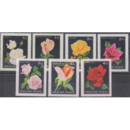 Hongrie - 1982 - No 2806/2812 - Roses