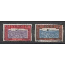 Togo - 1927 - No T20/T21 - Neuf avec charnière