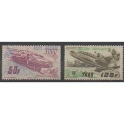 Togo - 1947 - Nb PA18/PA19