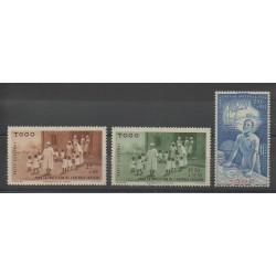 Togo - 1942 - Nb PA6/PA8
