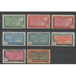 Togo - 1926 - No 144/151 - Neuf avec charnière